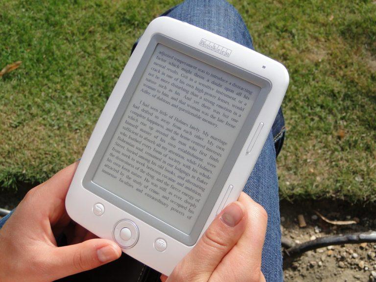 Elektronické čítačky kníh